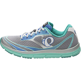 PEARL iZUMi EM Road N2 v3 Running Shoes Women grey/turquoise